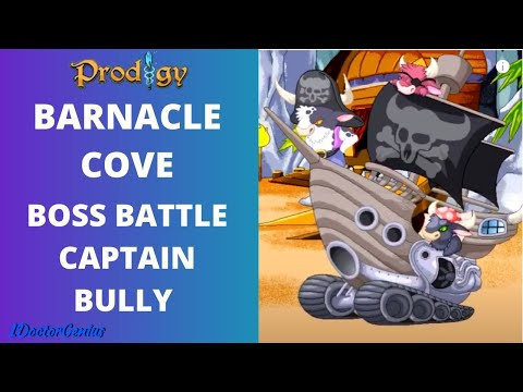 Final Battle with Captain Bully - One hit and I won, Barnacle Cove (Video 23) Prodigy Math Game