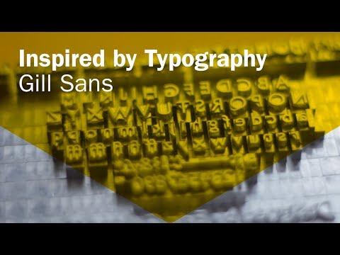 Exploring Gill Sans