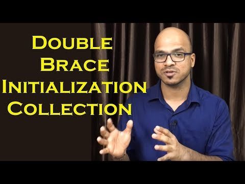 Double Brace Initialization in Java for List Collection Example