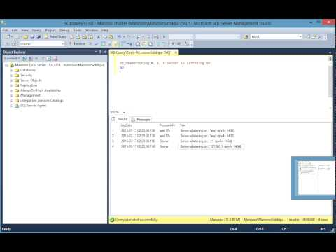 How to Find the Port for SQL Server [HD]