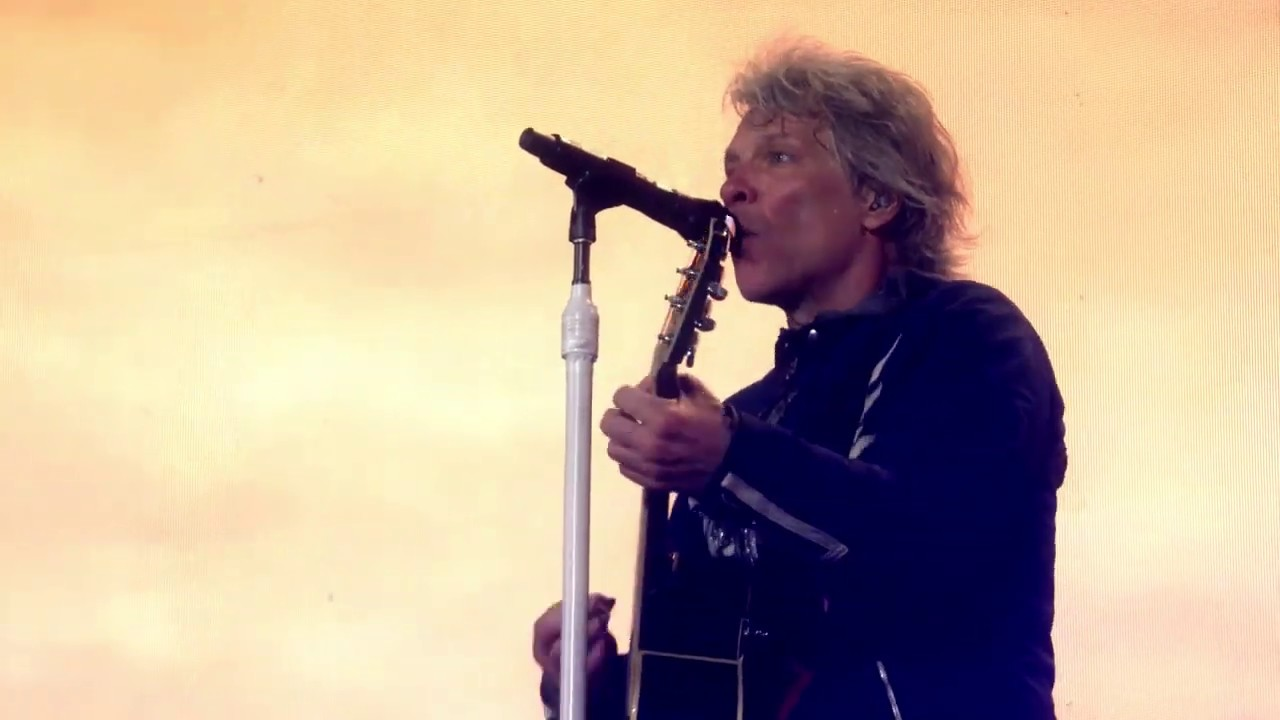 Bon Jovi: Wanted Dead or Alive-  from Wembley Stadium (June 21, 2019)