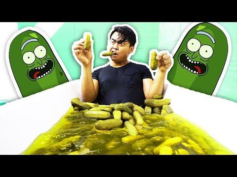 PICKLE BATH CHALLENGE!