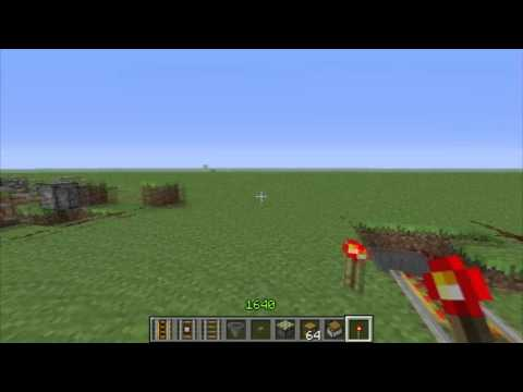 Minecart Chest Delivery System (TUTORIAL) - MINECRAFT