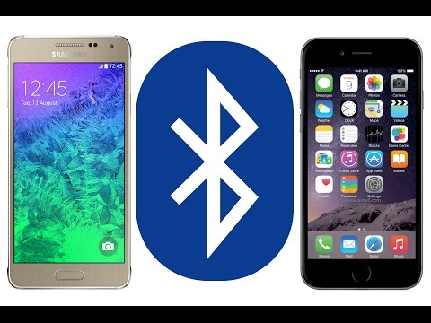 Send Files From Your iPhone To Any Device Via Bluetooth, iOS to Android Demo for iOS 11.x.x