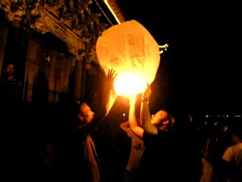 candle balloon