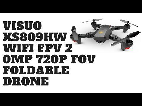 VISUO XS809HW Wifi FPV 2.0MP 720P FOV Foldable Drone