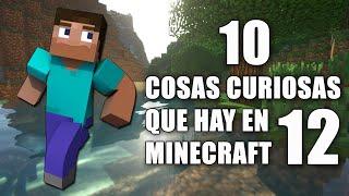 10 cosas curiosas que hay en Minecraft - Parte 12