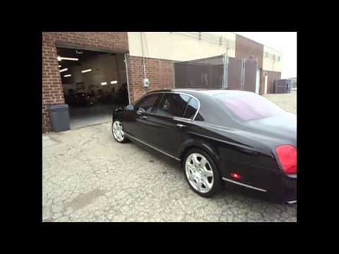 2008 Bentley 3M Window tinting by: Tint Pros 216-906-6084