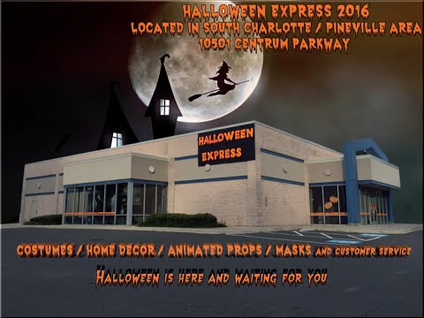 Halloween Express Store Singing Pumpkins Charlotte NC