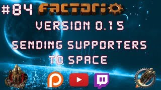 Factorio 0.15 Sending Supporters To Space EP 84: Mini Science Setup! - Let