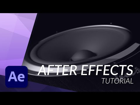 How to Work with Audio in After Effects - TUTORIAL
