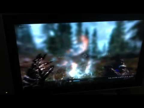 Skyrim How to upgrade Destruction Spells