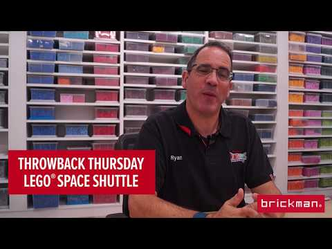 Throwback Thursday: LEGO® brick Space Shuttle