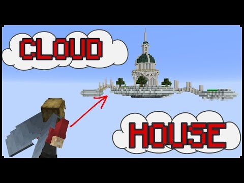 How to make a Minecraft CLOUD House!