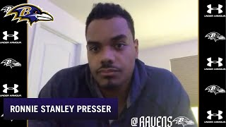 Ronnie Stanley Talks About Contract, Player Safety | Baltimore Ravens