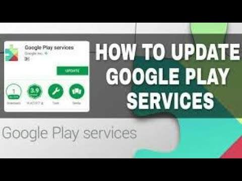 Can't / How to update google play services on android solution 2018   Android Tricks And Hacks