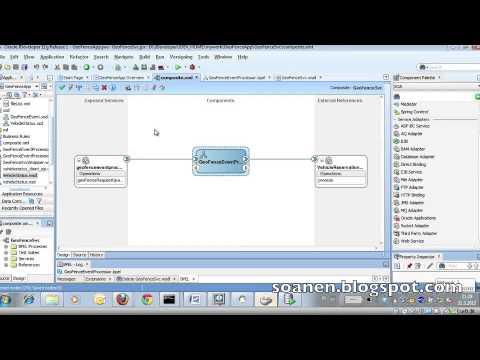 SOA Suite Tutorial 1 part 15 - Web Service adapter+invoke+assign+deploy+test