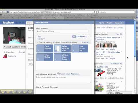 How to Create an Event on Facebook by dotJenna