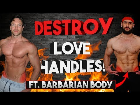 How To Get Rid Of Love Handles FAST | 5 Tips To Lose Back Fat!