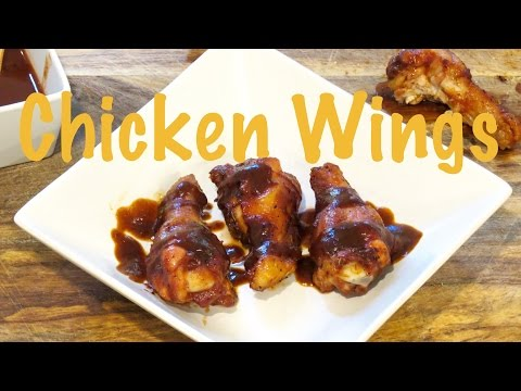 Oven Chicken Wings with BBQ Sauce | The Frugal Chef