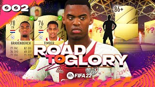 FIFA 22 ROAD TO GLORY #2 - MY FIRST WALKOUT!!!