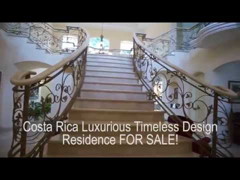 Costa Rica Luxury Home For Sale right on the Golf Course