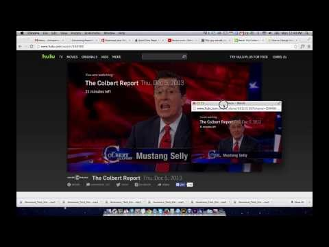 How to Resize the Hulu Player Window