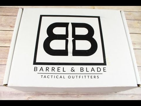 Barrel and Blade June 2017 Unboxing  - Tactical/Survival Box