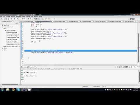 Java Programming - Grade Calculator