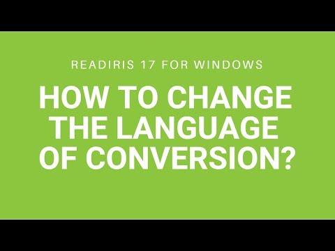 Readiris 17 - More than 130 languages