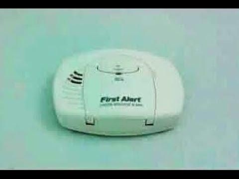 First Alert Carbon Monoxide Detector Battery Test