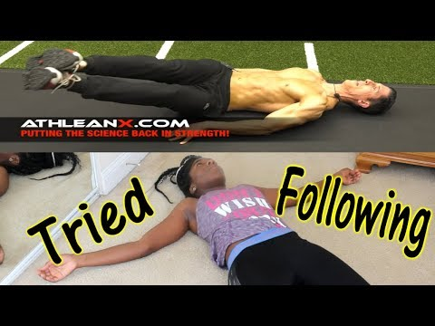 I Tried Following Athlean X 7 Minutes Abs
