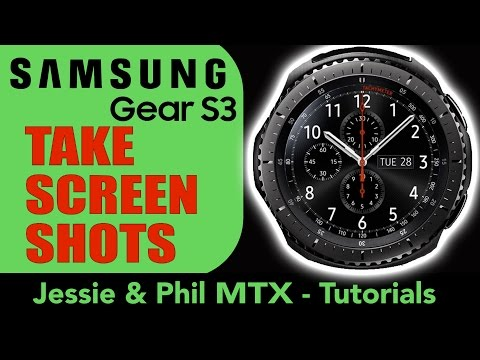 How To take a Screenshot SAMSUNG GEAR S3 Frontier in 1 minute