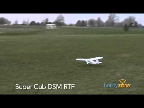 Hobby Zone Super Cub RTF with DSM Radio Rc Airplane