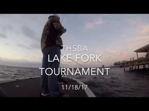 THSBA Lake Fork Tournament (Top 5 Finish)