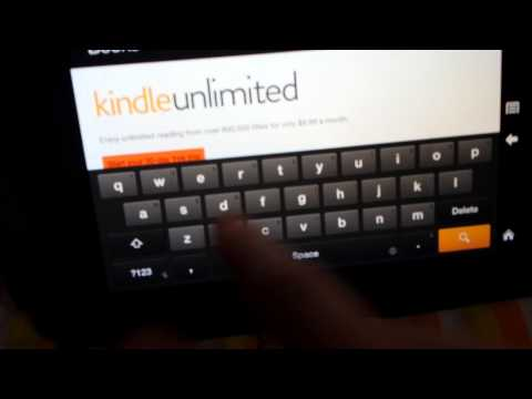 How to Get Free Books on Kindle Fire HD