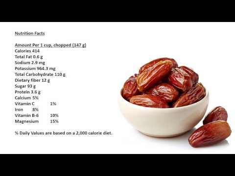 Dates Benefits, Dates Nutrition Facts, Dates Health Benefits