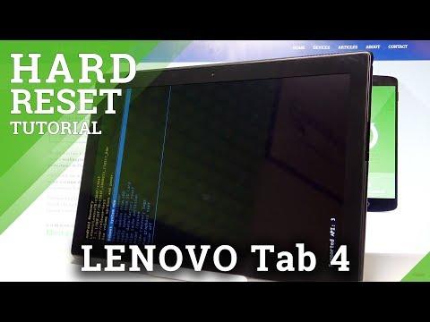 How to Hard Reset LENOVO Tab 4 10 - Bypass Screen Lock  HardReset.info