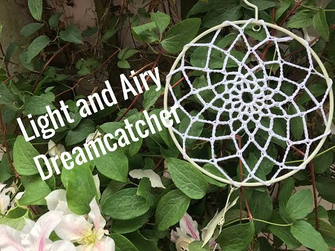Ophelia Talks about Crocheting a Dreamcatcher