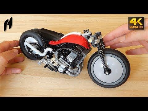How to Build a Lego Technic Chopper (MOC - 4K)