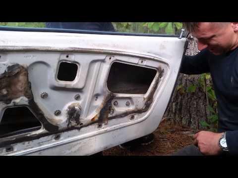 Installing new door locks 1965 - 1970 mustang