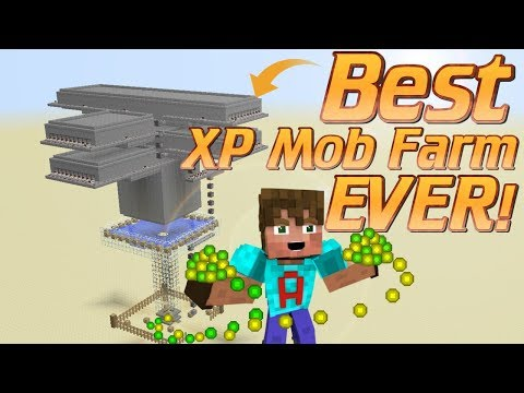 How to make an XP Farm in Minecraft | how to make a Mob Farm | Minecraft Tutorial Minecraft Farm
