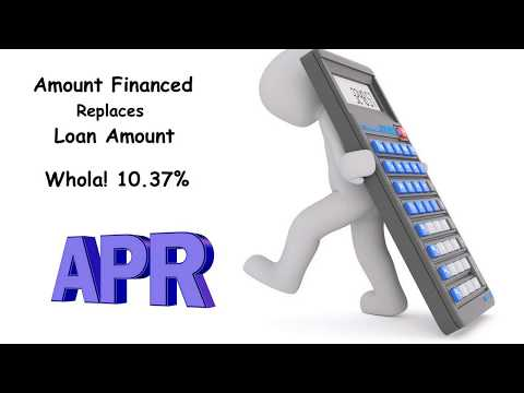 Learn About How APR Calculated