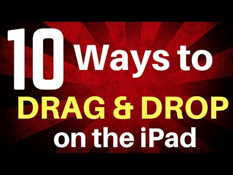 10 Ways to Use Drag and Drop on the iPad