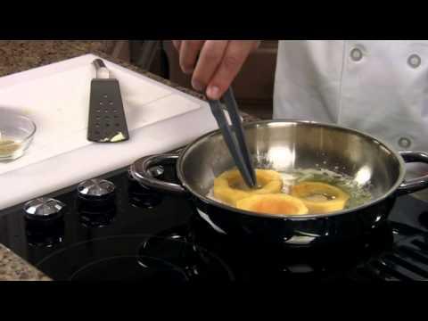 Fried Acorn Squash Rings