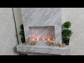 DIY Modern Fireplace for American Girl Doll
