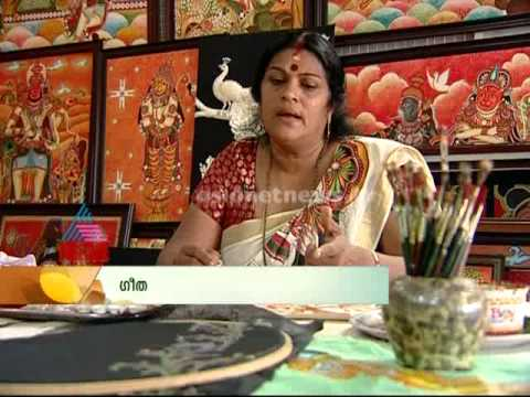 Ithalukal - Sthree: Geetha's Mural paintings
