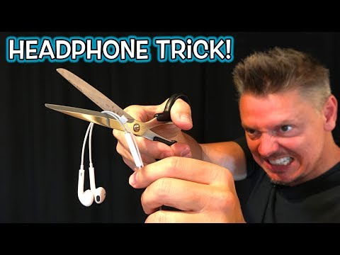 Headphone Magic Trick Prank!! **REVEALED!**