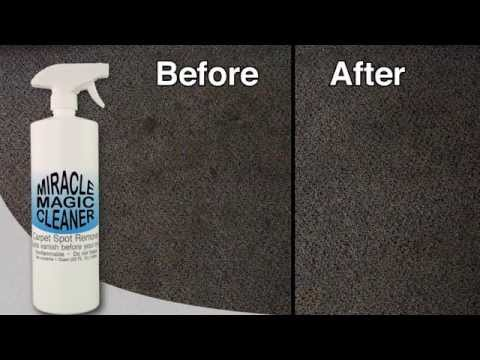 Homemade Carpet Cleaner Commercial - Indiegogo - Miracle Magic Cleaner