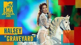 Halsey –Graveyard (LIVE) / MTV EMA 2019